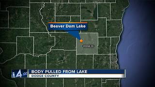 Authorities identify body pulled from a lake in Dodge County - Video