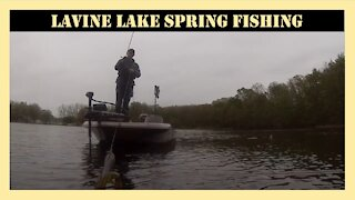 Lavine Lake Michigan Spring Fishing