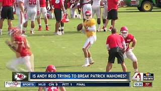 Can Chiefs' Patrick Mahomes be broken? - Video