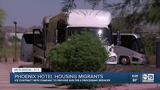 Some families who entered U.S. from southern border being brought to Phoenix hotels