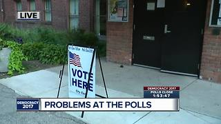 Problems at the polls on primary election day - Video