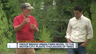Group brings urban farm model to Motor City - Video