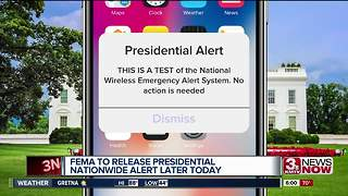 National Presidential Alert system to have first test