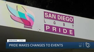 Pride makes changes to events