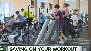 Saving on your workout - Video