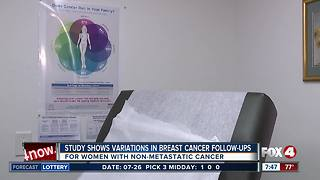 Study finds variations on follow-up care for women with nonmetastatic breast cancer