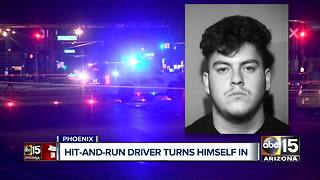 Phoenix hit-and-run suspect turns himself in - Video