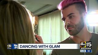Valley makeup artist featured on Dancing with the Stars - Video