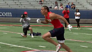 NFL hopeful from UA plans to watch 'Avengers' instead of draft