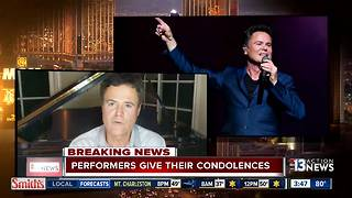 Las Vegas entertainers speaking out after mass shooting - Video