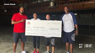 Toronto Raptors leave behind legacy project for The Skills Center in Tampa