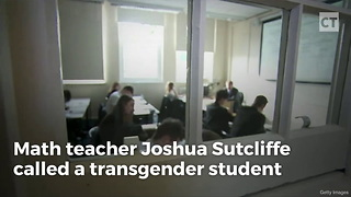 "Teacher Fired for ""Misgendering"" Student Sues - Video"