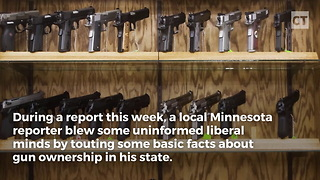 Local Reporter Goes Rogue, Tells Truth About Guns - Video