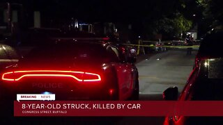 Police: 8-year-old dies after being hit by vehicle in Buffalo