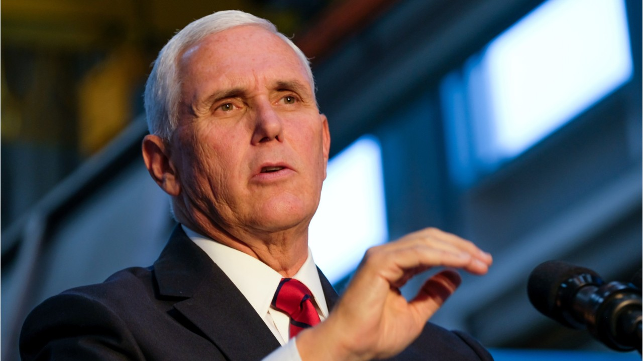Mike Pence goes to Iraq—unannounced