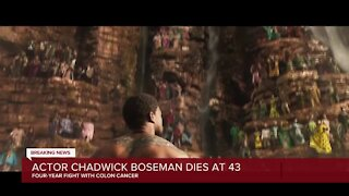 Actor Chadwick Boseman dies at 43