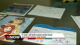 9-year-old with autism writes book on her struggles - Video