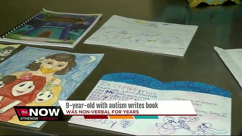 9-year-old with autism writes book on her struggles