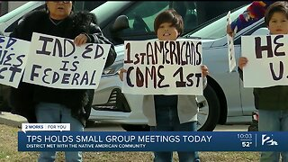 TPS Holds Small Group Meetings Saturday