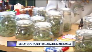 New push to legalize marijuana - Video