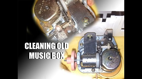 Cleaning and Repairing My Pullstring Music Box