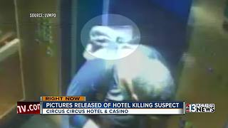 Police release video of hotel killing suspect - Video