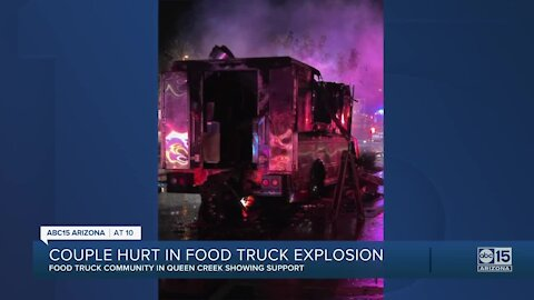 Valley couple survives after Bama BBQ 4 Ever food truck explodes in Gilbert