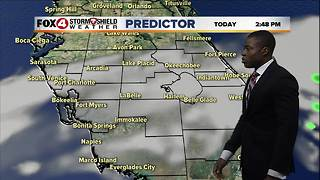 Comfortable Christmas Day Forecast - Video