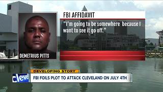Man arrested for plotting terrorist attack in downtown Cleveland on July Fourth - Video