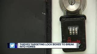 Thieves targeting lock boxes to break into homes