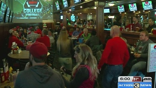 Huskers fans turnout big for Iowa game