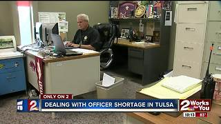 Ride with Tulsa Police officers helping with patrol duty