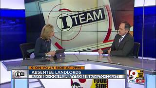 Absentee landlords in Hamilton County - Video