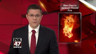 Man dies following Jackson County home fire