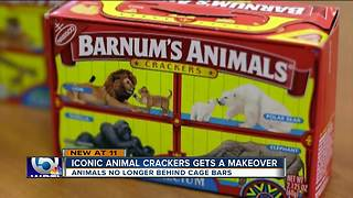 Iconic animal crackers box gets a makeover