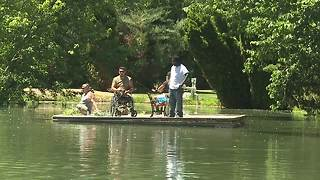 Juniper Ranch in Caldwell hosts veterans for a day of fishing - Video