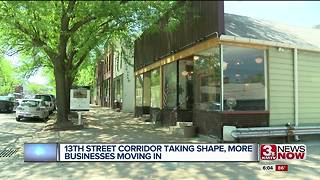 Businesses moving into revitalized 13th Street corridor - Video