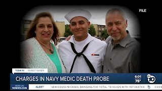 Charges in Navy medic death probe