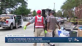 Tell Me Something Good: Volunteering from home