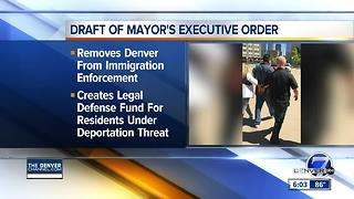 Denver mayor expected to sign executive order to protect immigrants - Video