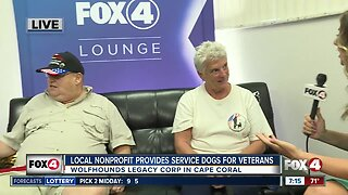 Cape Coral nonprofit rescues, trains service dogs to pair with U.S. veterans
