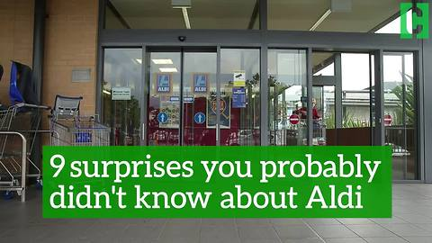 9 surprises you probably didn't know about Aldi