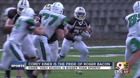 Star Roger Bacon RB Corey Kiner knows 'high school is bigger than sports'