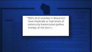 Wisconsin has fifth highest rate in the country of new COVID-19 cases, White House report says
