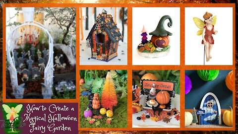 Create a Halloween Garden for the Gnomes