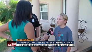 EXCLUSIVE: 11-year-old boy stabbed over talking in sleep shares his ordeal - Video