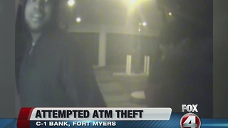 ATM thieves caught on camera - Video