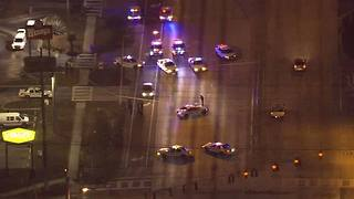 Heavy police activity closes portion of SB Dale Mabry - Video
