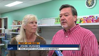 New owners step in to save Walworth County Food Pantry - Video