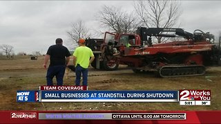 Government shutdown affecting small businesses